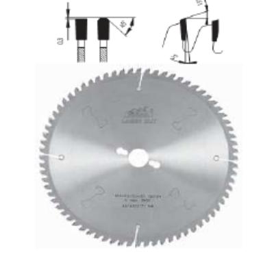 Alumíniumvágó körfűrészlap D:250x3,2x2,5x30 Z=80