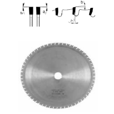 Építőipari körfűrészlap D:400x3,6x2,5x30 Z=28