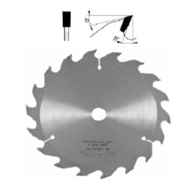Hosszvágó körfűrészlap D:250x3,2x2,2x30 Z=20