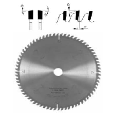 Univerzális, zajcsillapított körfűrészlap D:250x3,2x2,2x30 Z=60