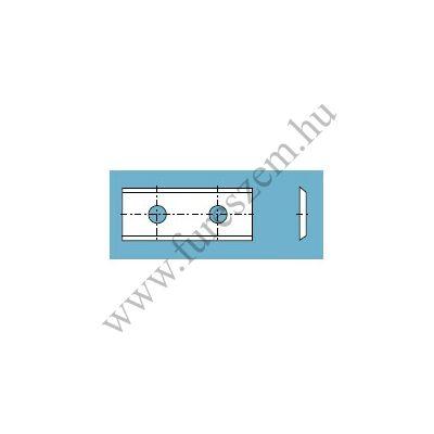 Tigra HM váltólapka 25x12x1,5 Z=2 (2 furatos)