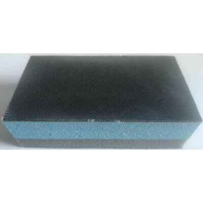 Csiszolóblokk 70x125x38 mm kemény/puha kétoldalas