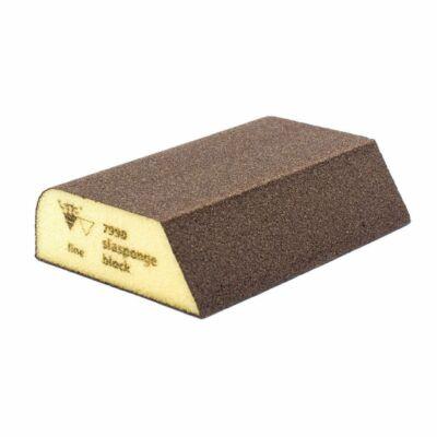 Kombi csiszolószivacs 7990 siasponge hard FINE 69 x 98 x 26 mm
